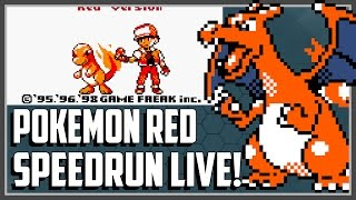 Pokemon Red SPEEDRUN Livestream #1