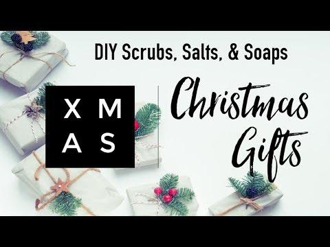 ☆ DIY CHRISTMAS GIFTS | Bath Salts, Scrubs, + Soaps! ☆