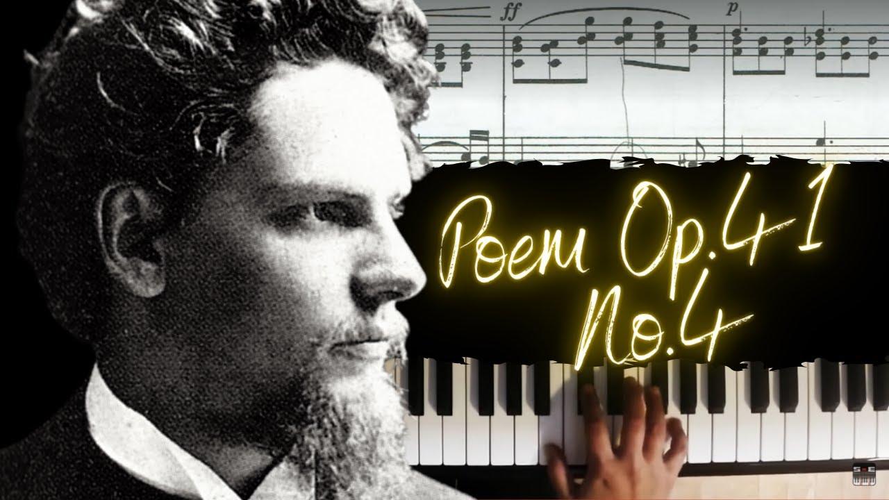 Zdeněk Fibich Poem Op41 No4 Classical Piano Lesson 3