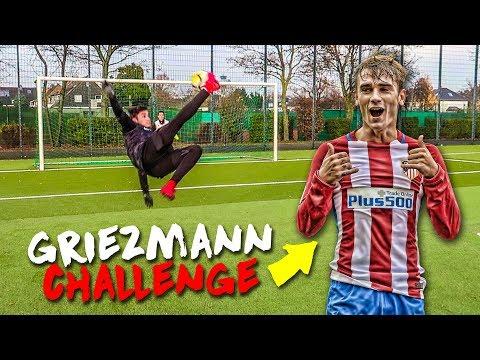 ANTOINE GRIEZMANN FUßBALL CHALLENGE + BESTRAFUNG !