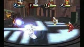 Marvel SuperHero Squad Battle Mode GamePlay Video!!!