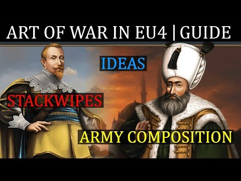 EU4 Advanced Warfare Guide  ART OF WAR | Stackwipes | Ideas | Army