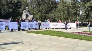 Митинг обманутых дольщиков СУ-155, 20.09.2014.
