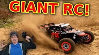 RC Desert Racer tested to the limit