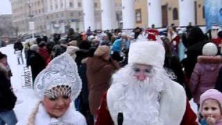 Новогоднее мероприятие в Калуге