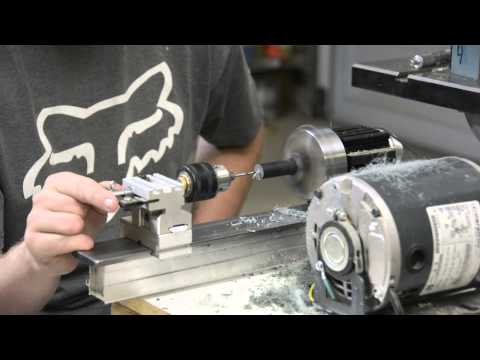 Making an Acrylic (Lucite) Stem for a Tobacco Smoking Pipe - Part 1 of 2