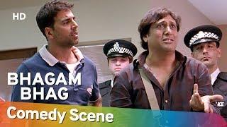Bhagam Bhag - Superhit Comedy Scene - Akshay Kumar - Govinda - बॉलीवुड की सुपरहिट कॉमेडी
