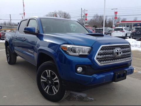 Blue Toyota Tacoma >> NEW 2017 Toyota Tacoma Dbl Cab TRD Sport Upgrade Review ...