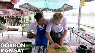 Download Gordon Ramsay Takes On Thailand's Chef McDang | Gordon's Great Escape Mp3 and Videos
