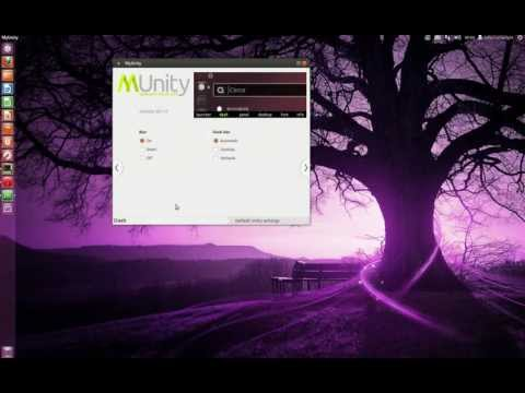The latest Ubuntu 12.04 Unity desktop environment.