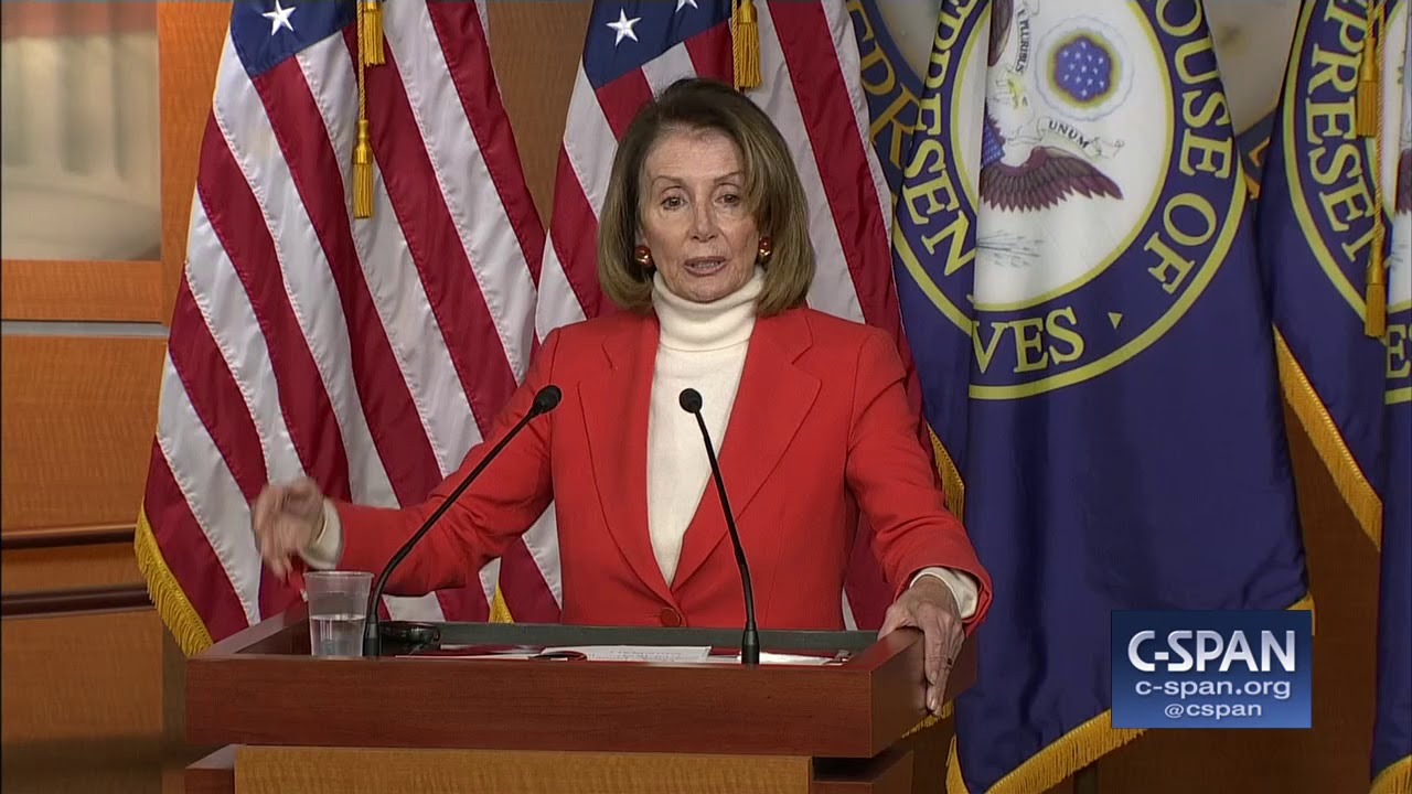 Word for Word: Nancy Pelosi says she has votes to be Speaker (C-SPAN)
