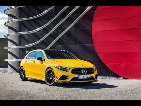 The new Mercedes AMG A 35 4MATIC