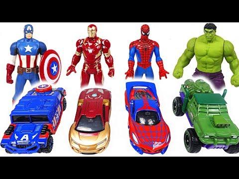 Paw Patrol! Let's play! Marvel Tomica and Metakore Hulk, Spider Man transform! - DuDuPopTOY