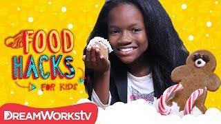 Gingerbread Hacks | FOOD HACKS FOR KIDS