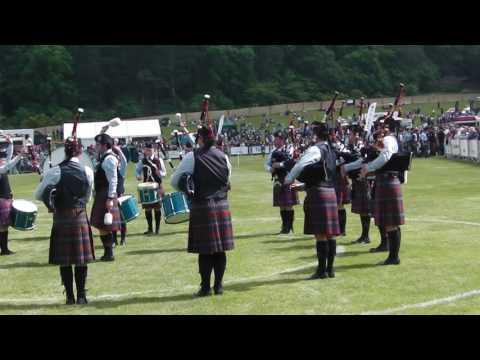 Bucksburn & District Pipe Band European Pipe Band Championships 2016