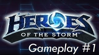 Heroes of the Storm Alpha #1 - Burp Bookends w/ Diablo and Uther