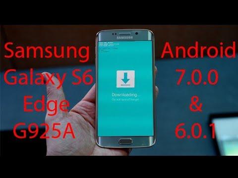 Samsung Galaxy S6 Edge G925A USA официальная прошивка