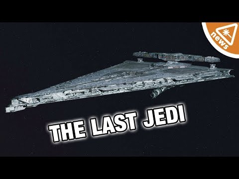 What You Missed on Star Wars The Last Jedi's New Dreadnought! (Nerdist News w/ Jessica Chobot)