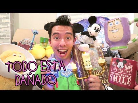 Mis Compras de Disneyland y TODO sale DAÑADO y VidCon Estados Unidos - VLOG #44