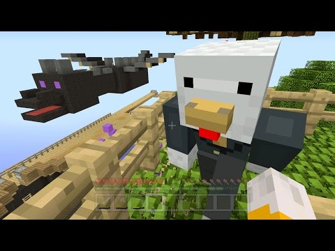 Minecraft Xbox - Sky Den - Building A Dragon (34)