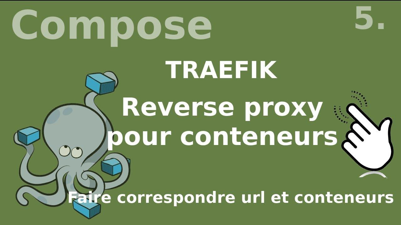 Docker compose - 5  TRAEFIK le reverse-proxy pour conteneurs
