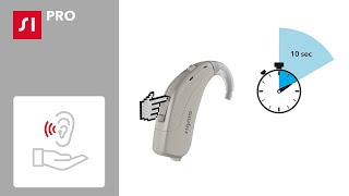 How to program a Signia Fun hearing aid