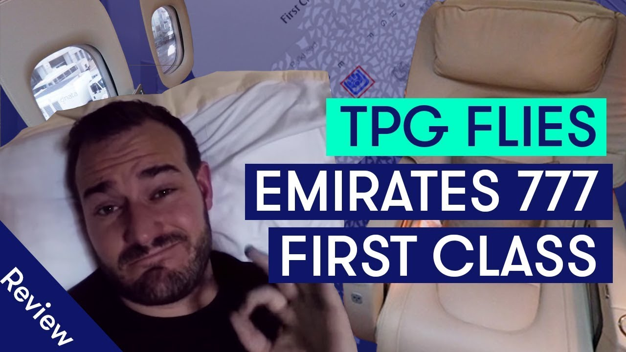 Most Privacy in the Sky! TPG flies Emirates 777 First Class Fully Enclosed Suite