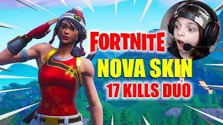 FORTNITE-NEW SKIN AND MOST TENSE MATCH I'VE EVER PLAYED