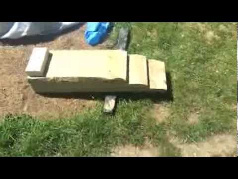 Simple Wooden Car Ramps - Build Your Own