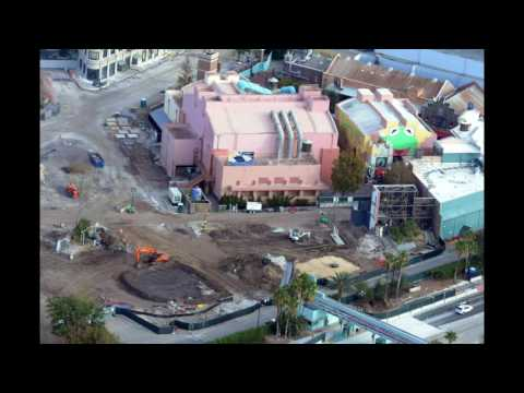 Thumbnail: Aerial View of Construction of Star Wars Land & Toy Story Land - DHS Update #16