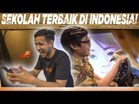 School Tour Episode 1 Part 2   SMK Raden Umar Said Kudus   SkinnyIndonesian24