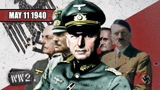 Hitler Strikes in the West - WW2 - 037 - May 11 1940