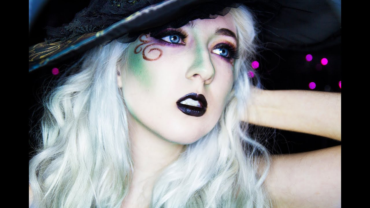 Steampunk Witch HALLOWEEN MAKEUP TUTORIAL - YouTube