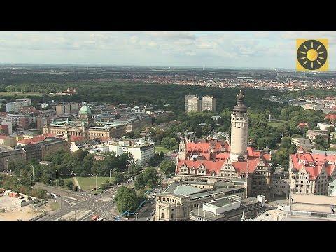 """LEIPZIG - Sachsen """"Stadterlebnis City Leipzig"""" Teil 1 DEUTSCHLAND - Saxony"""