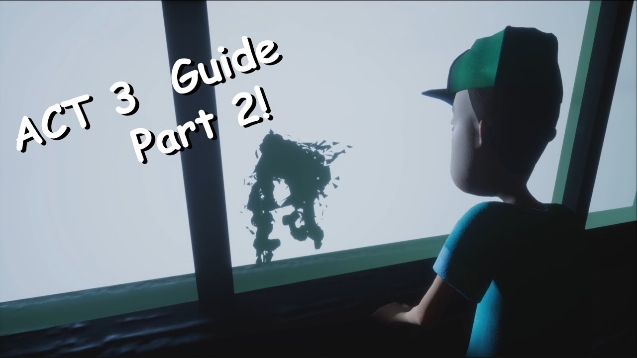 Hello Neighbor Beating ACT 3 Guide! Part 2 (Basement) **GIVEAWAY