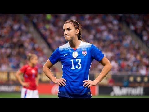 Alex Morgan: 100 Caps with the U.S. Women