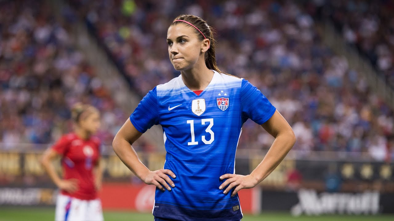 new concept dd4ae 61194 Alex Morgan: 100 Caps with the U.S. Women's National Team
