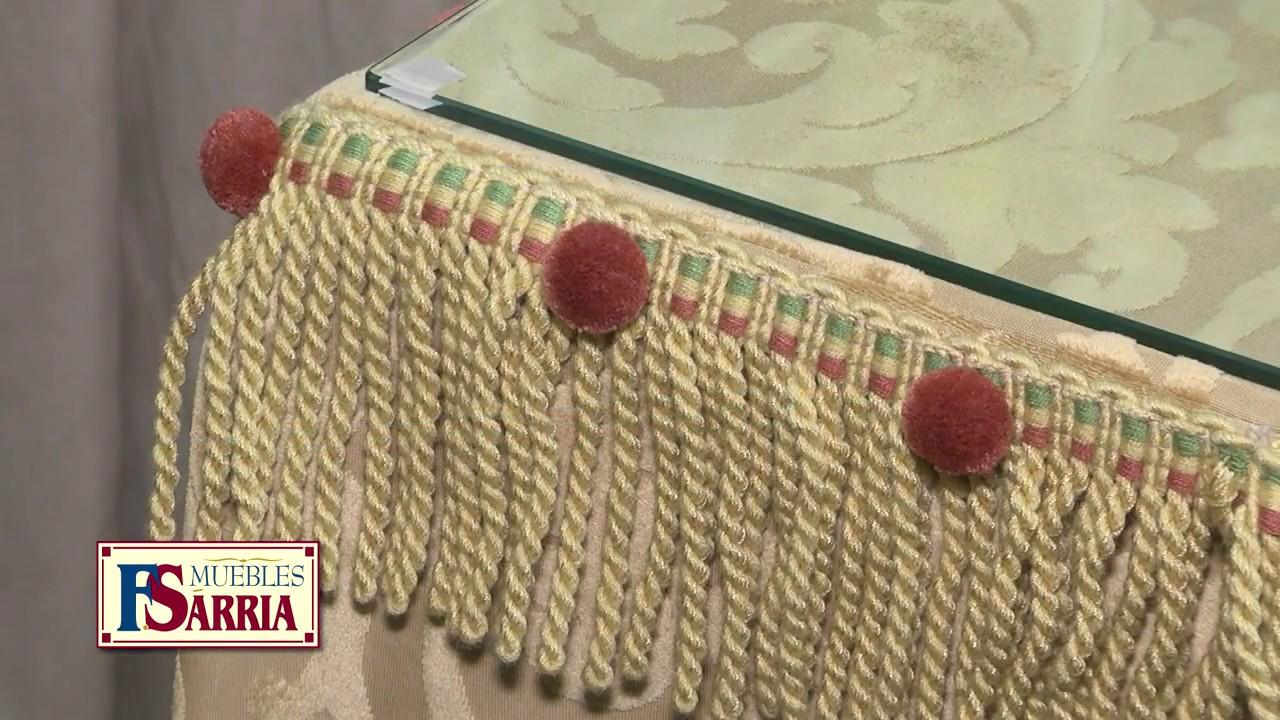 Consejos de decoraci n de mesas camillas por muebles - Decorar mesa camilla ...