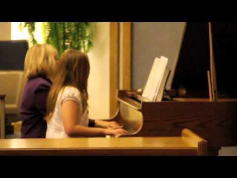 """2012-03-30 """"Hava Nagila"""" by Linda Briggs & Ms. Schraeder"""