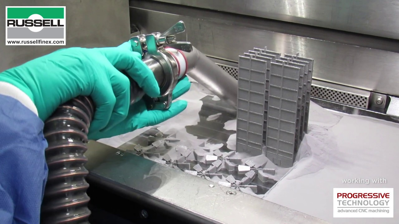 Metal Powder Recovery System for Additive Manufacturing