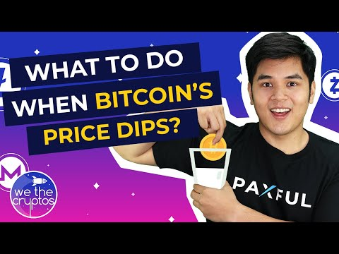 What To Do When Bitcoin's Price Dips