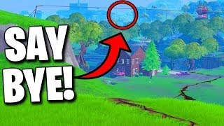 Say Goodbye to This Location in Fortnite Season 8..