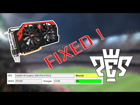 How To Fix ALL GPU & VRAM Problems in Pro Evolution Soccer