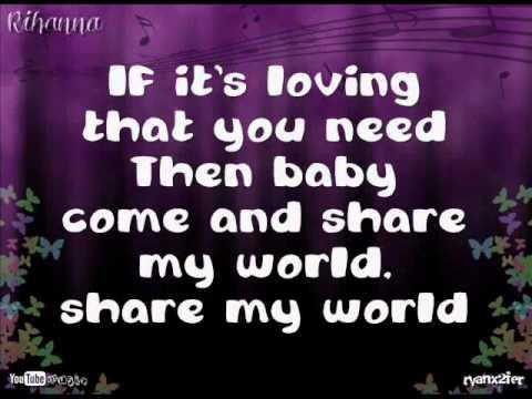 Rihanna - If It's Lovin' That You Want Lyrics