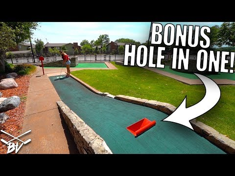 DOING THIS GIVES YOU A GUARANTEED MINI GOLF HOLE IN ONE!