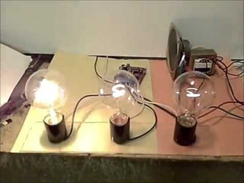 3 Channel Color Organ Kit Demo