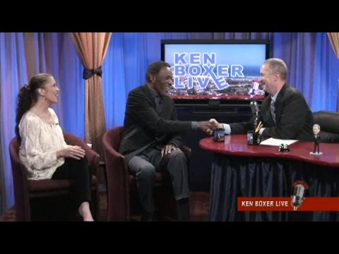 """Ken Boxer Live,"" Rafer Johnson, Olympic Gold & Silver Medalist, With Co-Host Tai Babilonia"