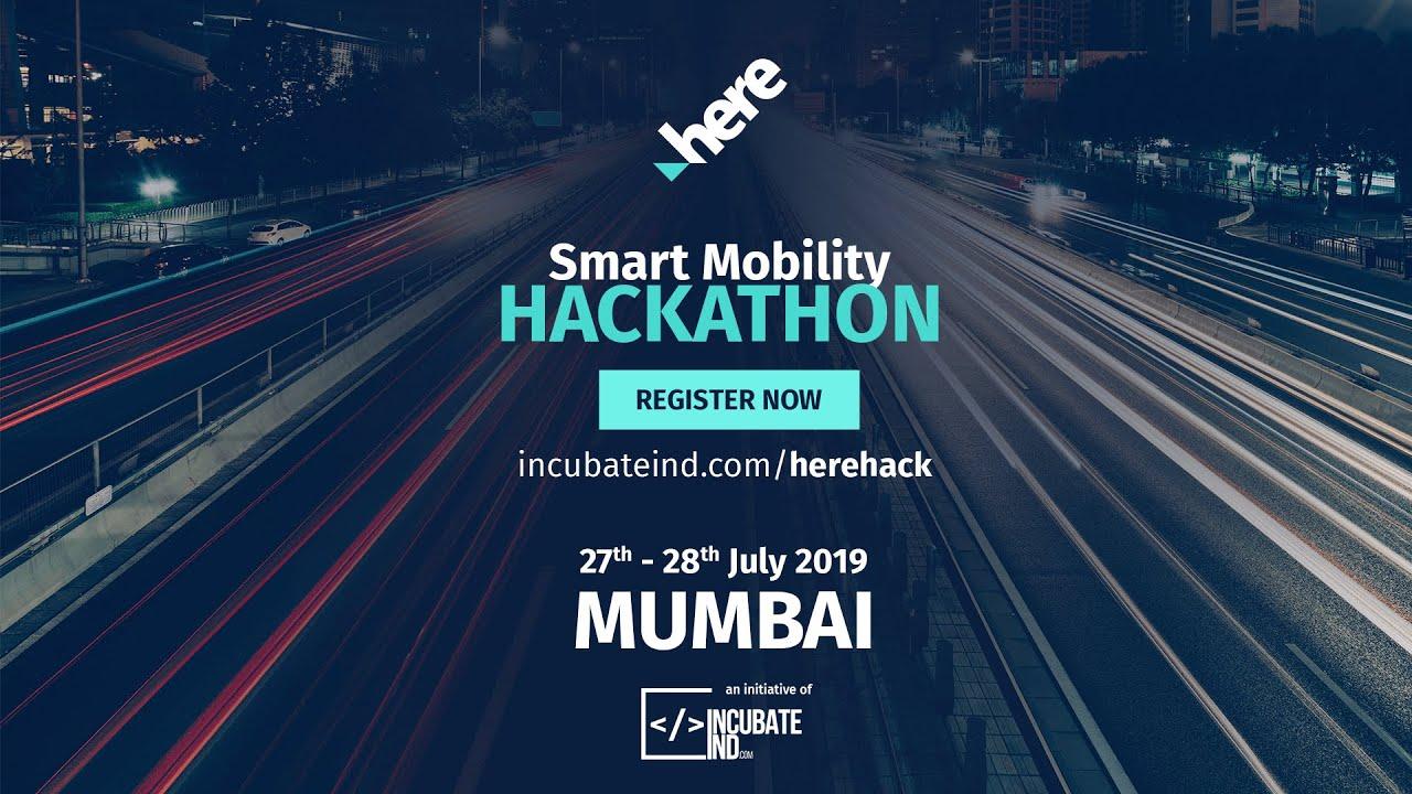 Smart Mobility Hackathon | IncubateIND