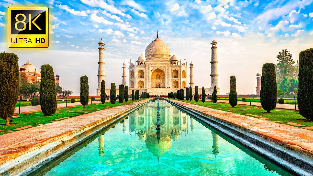 Beautiful Trip to INDIA in 8K ULTRA HD - Travel to Best Places in India with Relaxing Music 8K TV