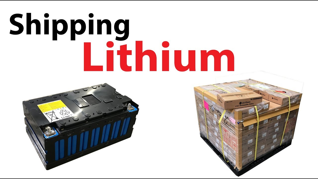 can you legally ship lithium batteries youtube